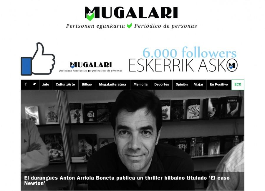 Artículo en Mugalari