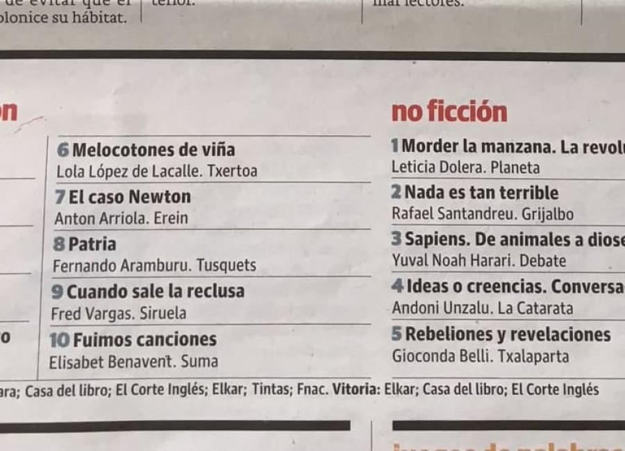 EL CORREO, El Caso Newton, séptimo clasificado en categoría ficción