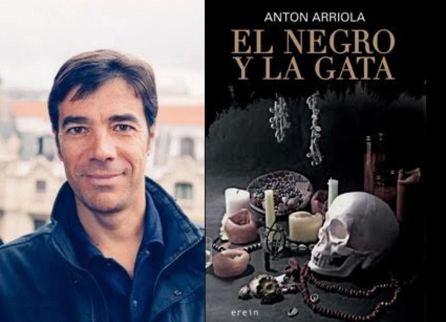 Entrevista Pompas de Papel Radio Euskadi, libro El negro y la gata